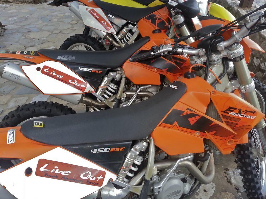 KTM Live Out a noleggio in Sardegna