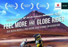 nuove V-STROM 1000 Feel More e Globe Rider
