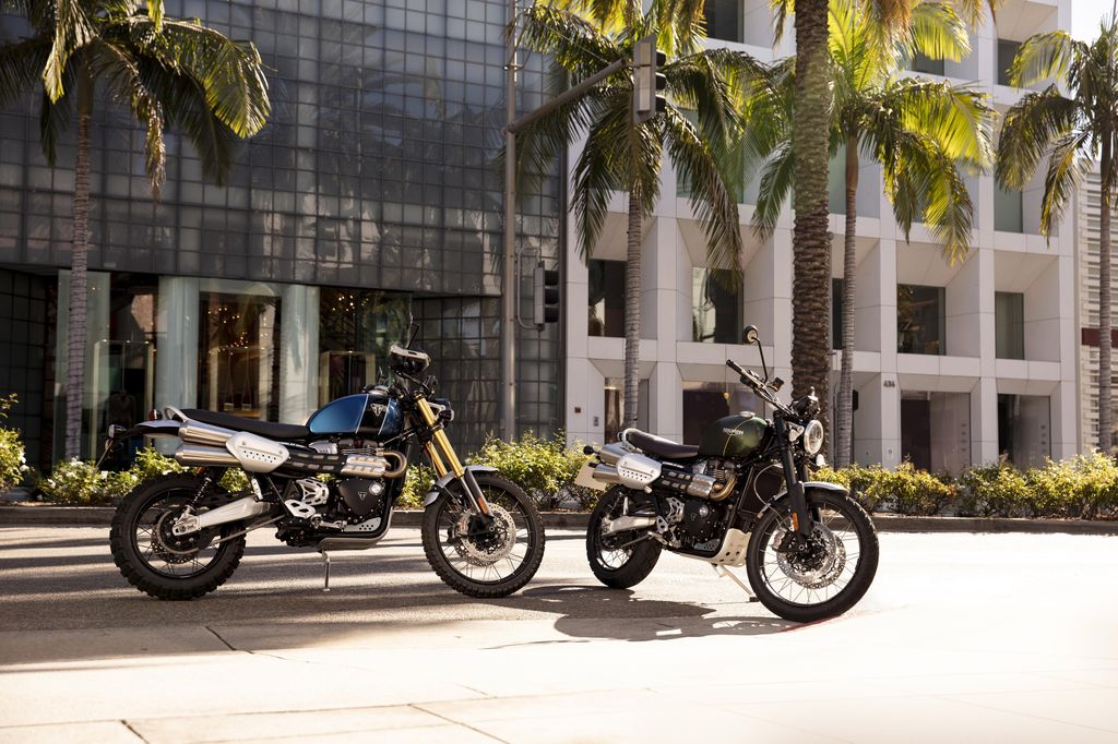Scrambler 1200 XE and XC