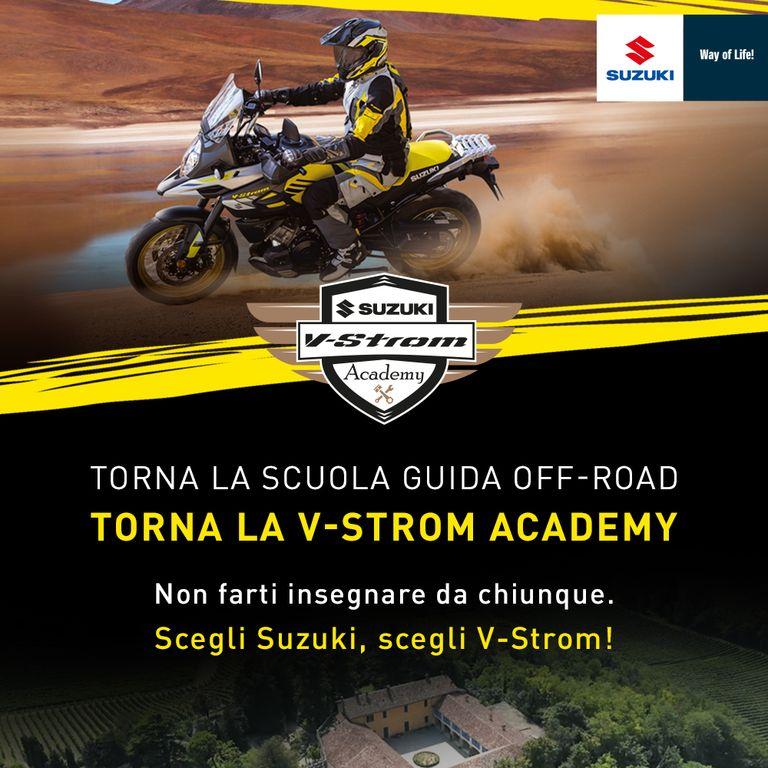 Suzuki V-STROM Academy 2019