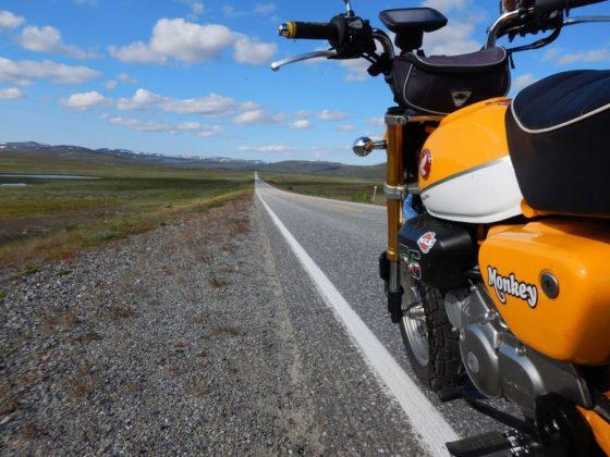 Honda Monkey 125 RC Nordkapp Aiossa