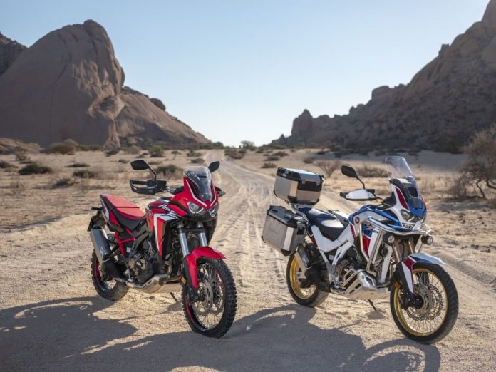 nuove CRF1100L Africa Twin e Africa Twin Adventure Sports 2020